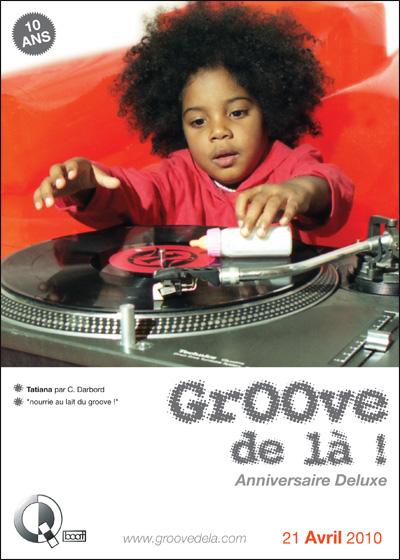 Flyer Groove de là 2010