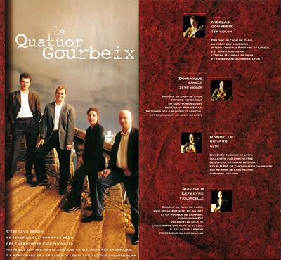 Quatuor Gourbex