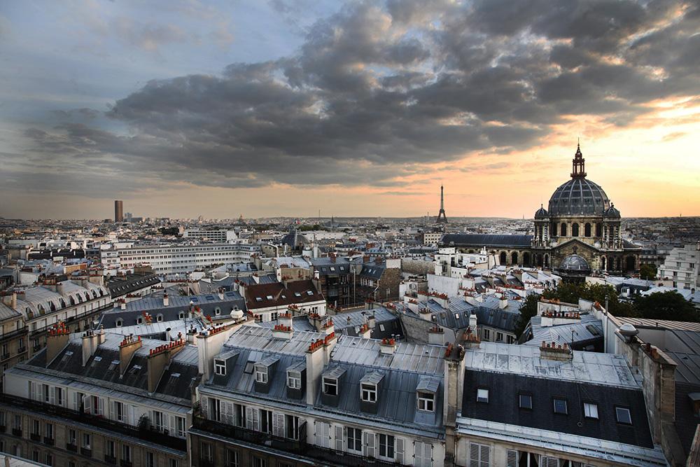 DARBORD - vue de Paris